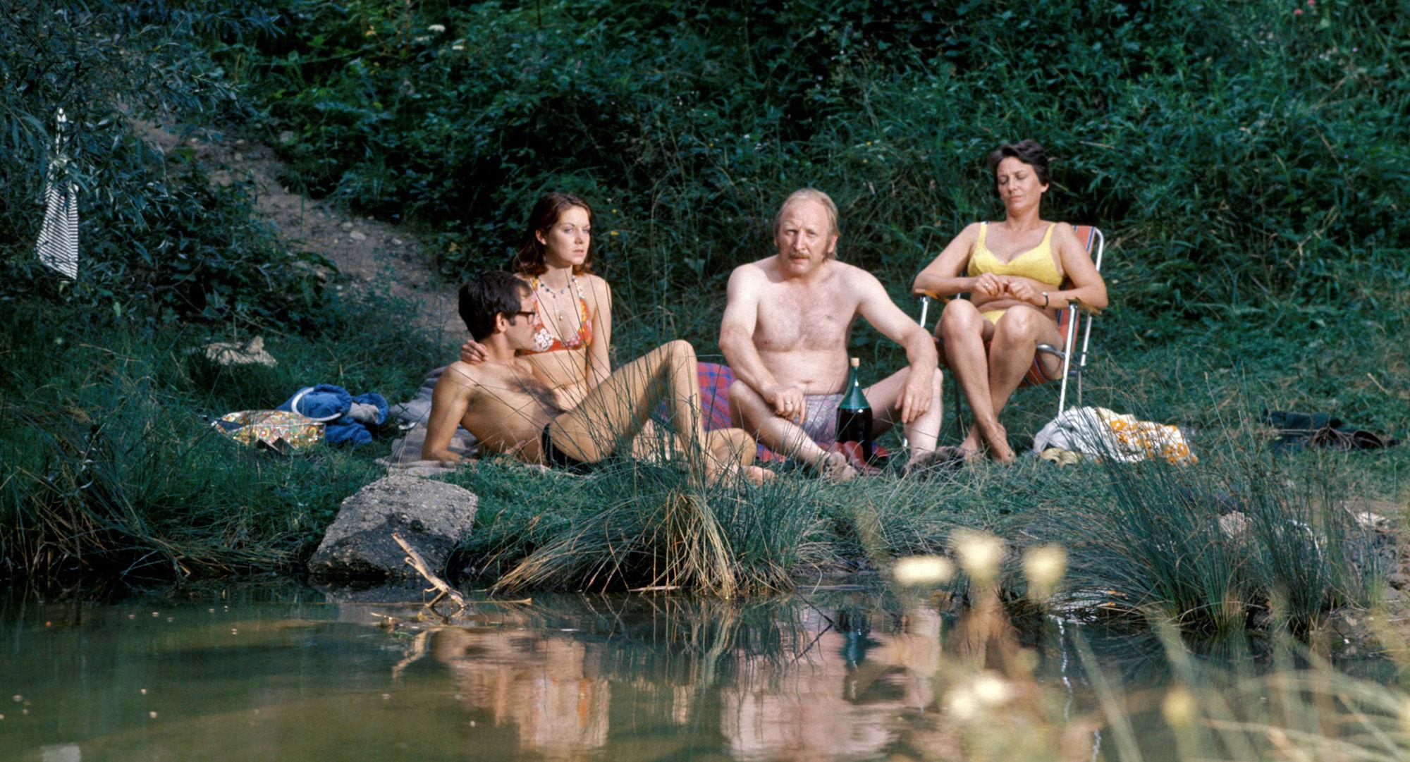 Franzi (Alexander Wächter), Hanni (Erika Deutinger), Mundl (Karl Merkatz), Toni (Ingrid Burkhard)