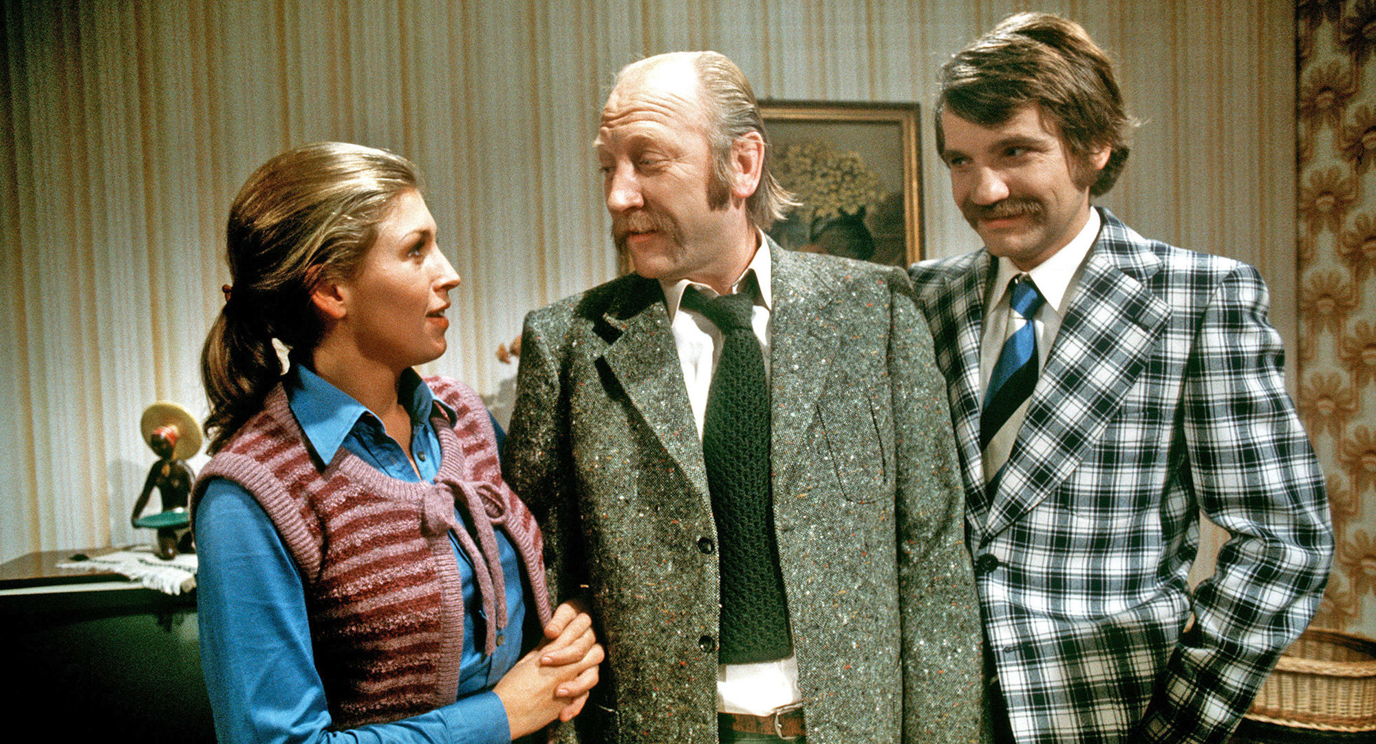 Irmi (Liliana Nelska), Mundl (Karl Merkatz), Karli (Klaus Rott)