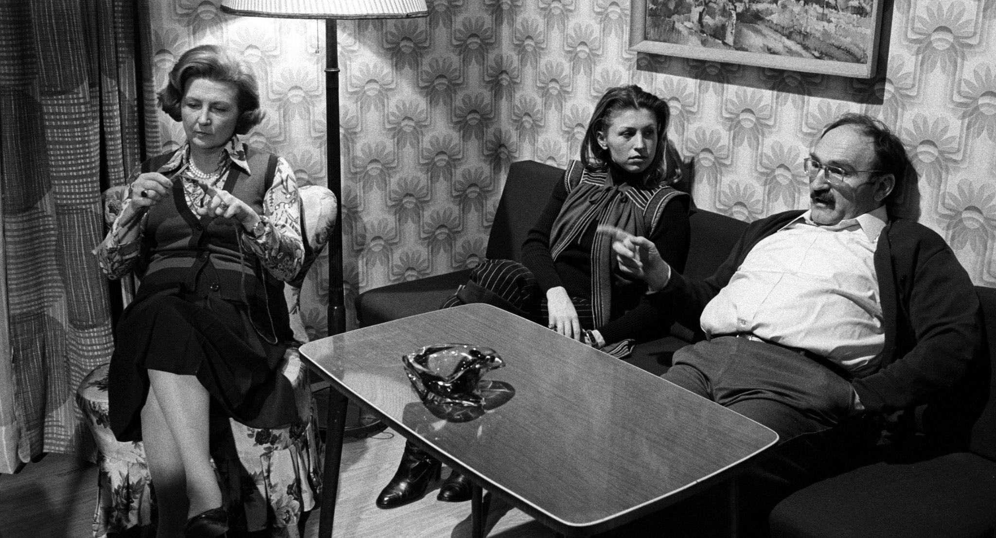 Martha Werner (Ilse Hanel), Irmi (Liliana Nelska), Herr Werner (Jaromir Borek)