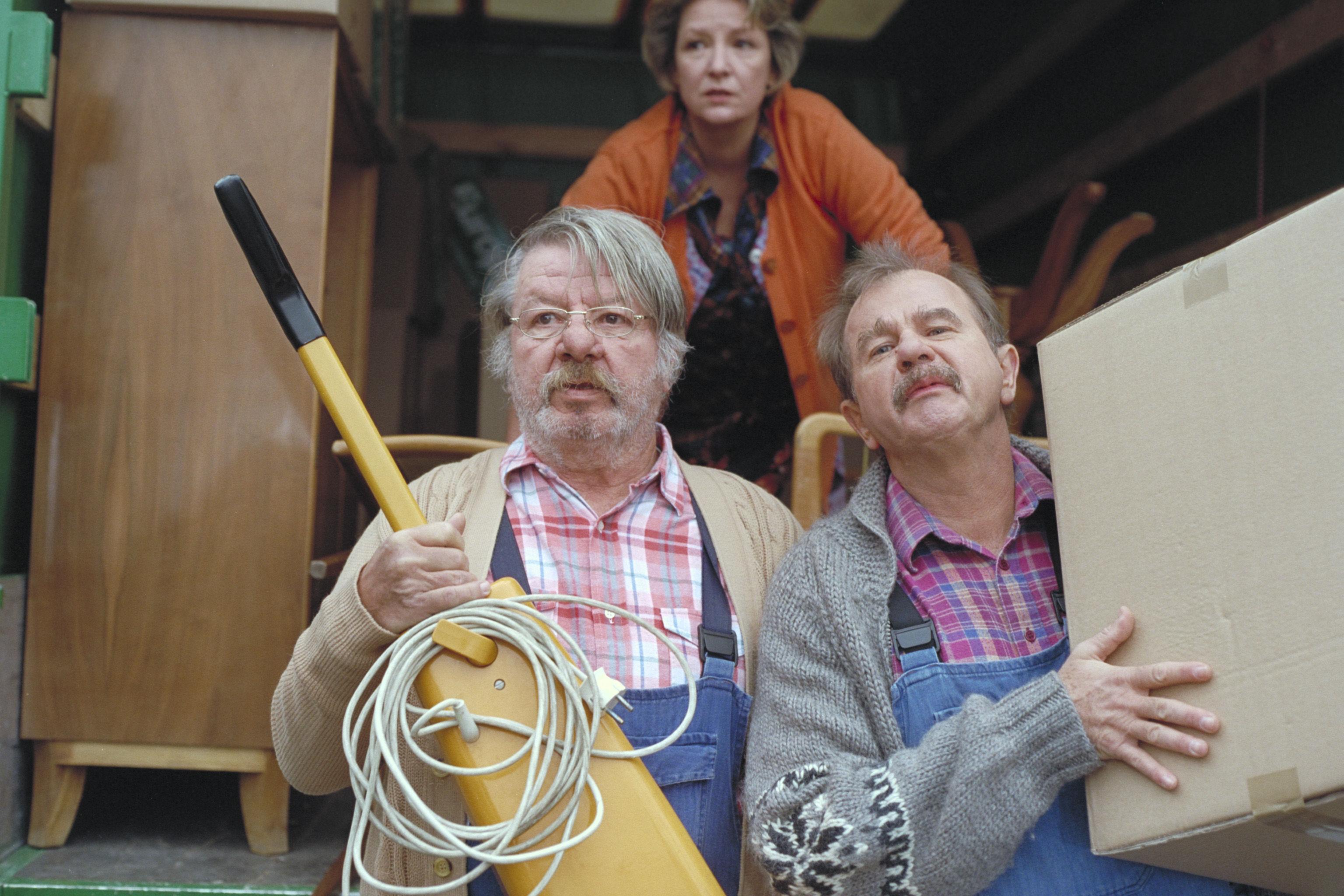 Heinz Petters (Sigis Vater), Kitty Speiser (Sigis Mutter), Ernst Konarek (Sigis Vater)
