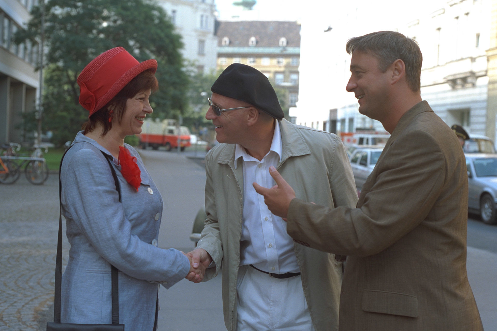 Elfi Eschke, Alexander Goebel, Andreas Vitasek