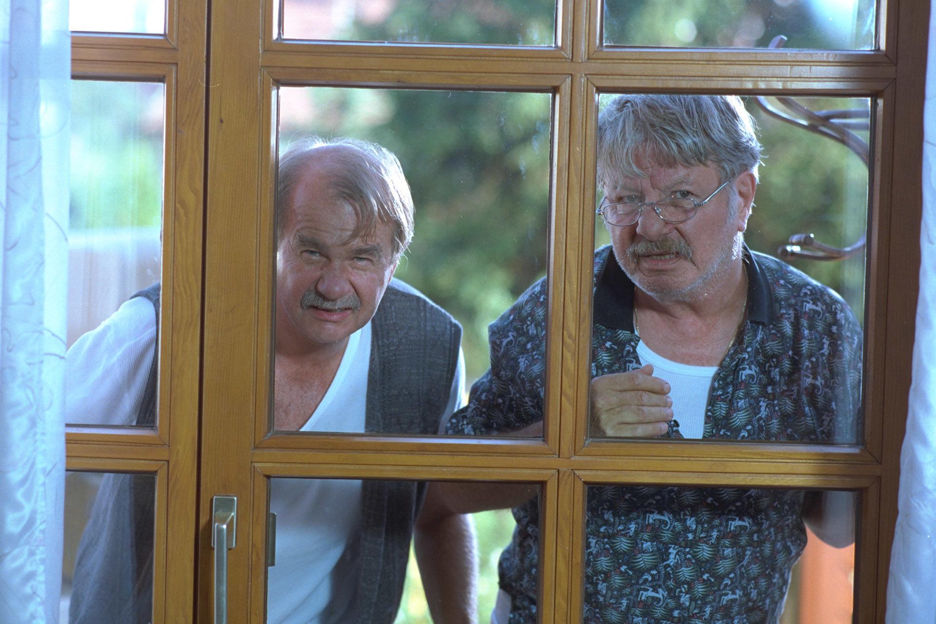 Ernst Konarek (Sigis Vater), Heinz Petters (Sigis Opa)