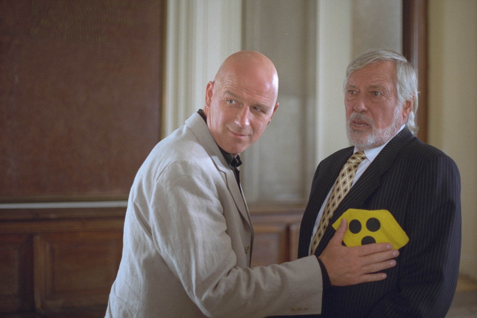 Alexander Goebel (Sigis Anwalt), Dietmar Schönherr (Renates Anwalt)