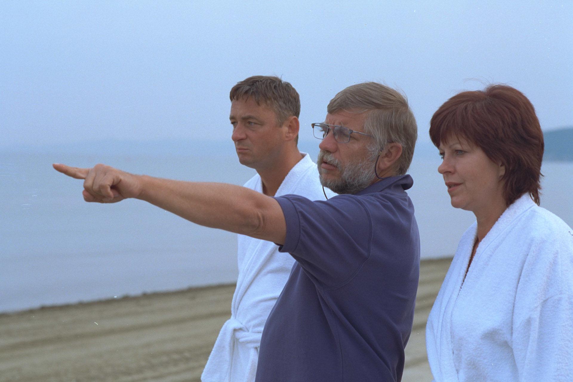 Andreas Vitasek (Sigi), Reinhard Schwabenitzky (Regie), Elfi Eschke (Henny