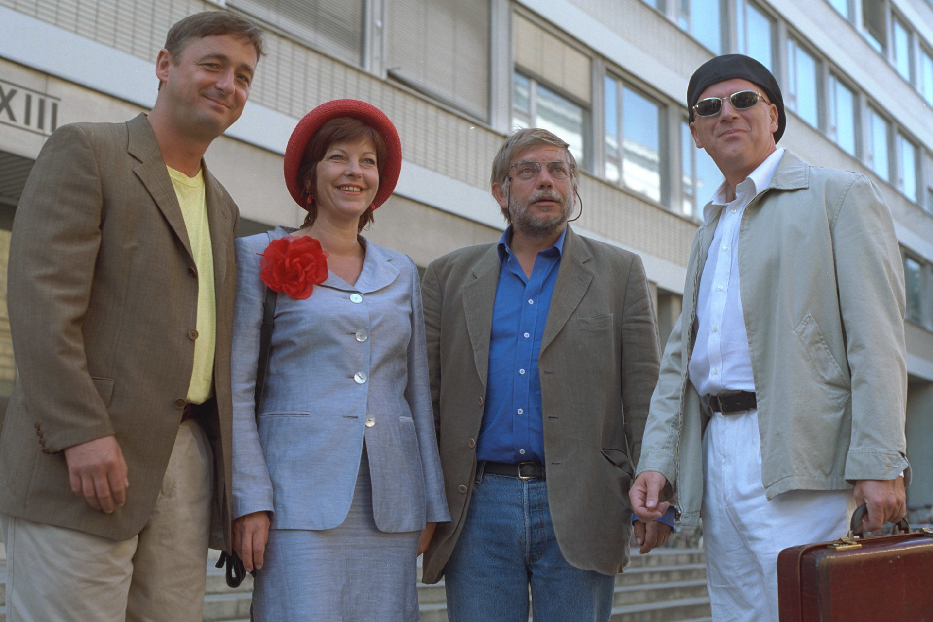 Andreas Vitasek, Elfi Eschke, Reinhard Schwabenitzky, Alexander Goebel