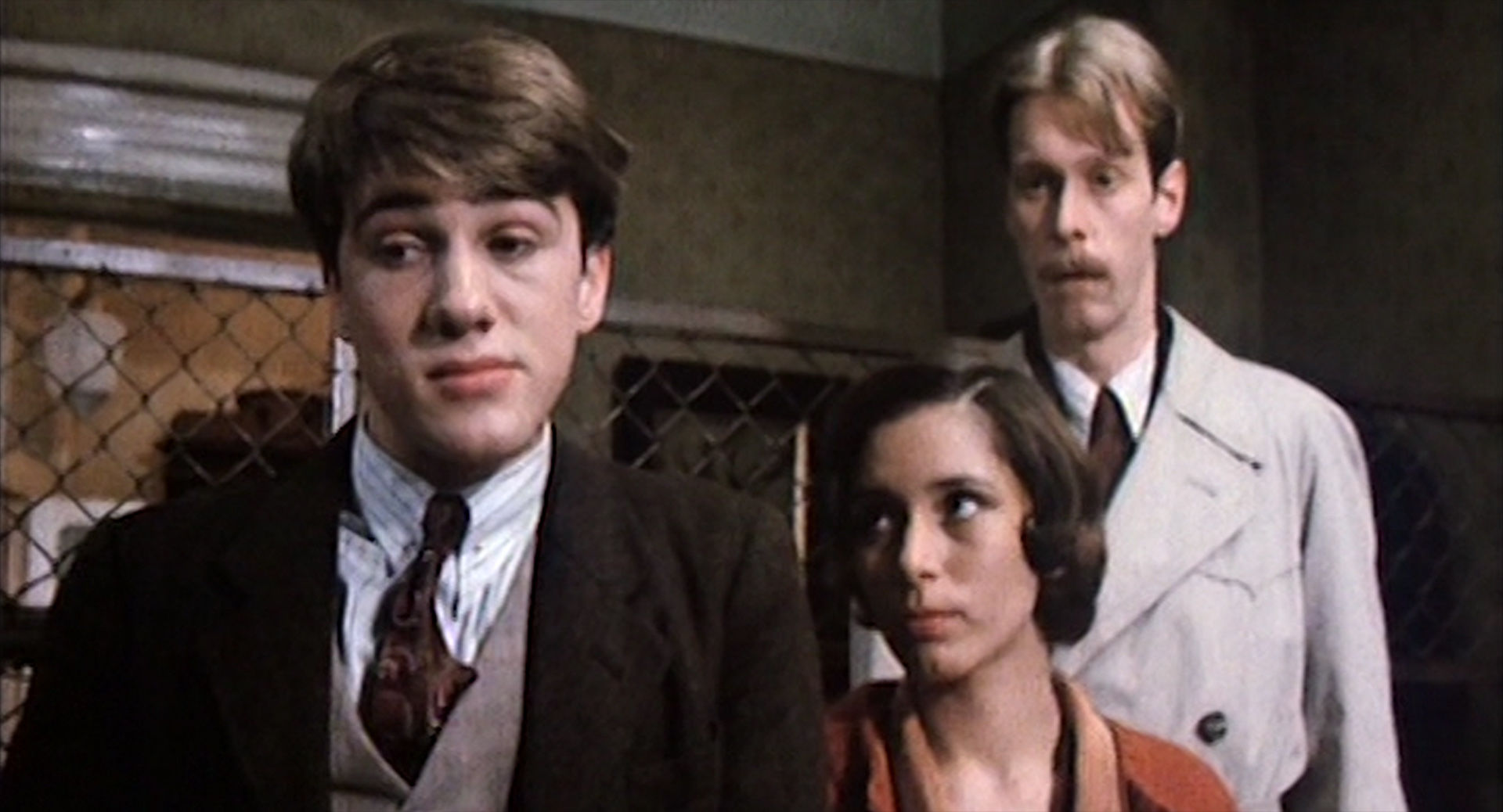 Christoph Waltz (Ede), Ute Willing (Edes Verlobte), Gottfried Vollmer (Harry)