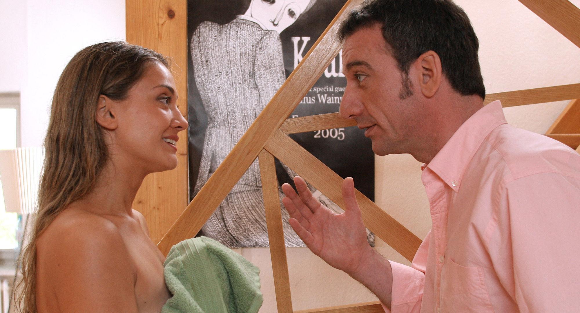 Heio von Stetten (Peter Sommer), Nicole Ennemoser (Maria Hecht)