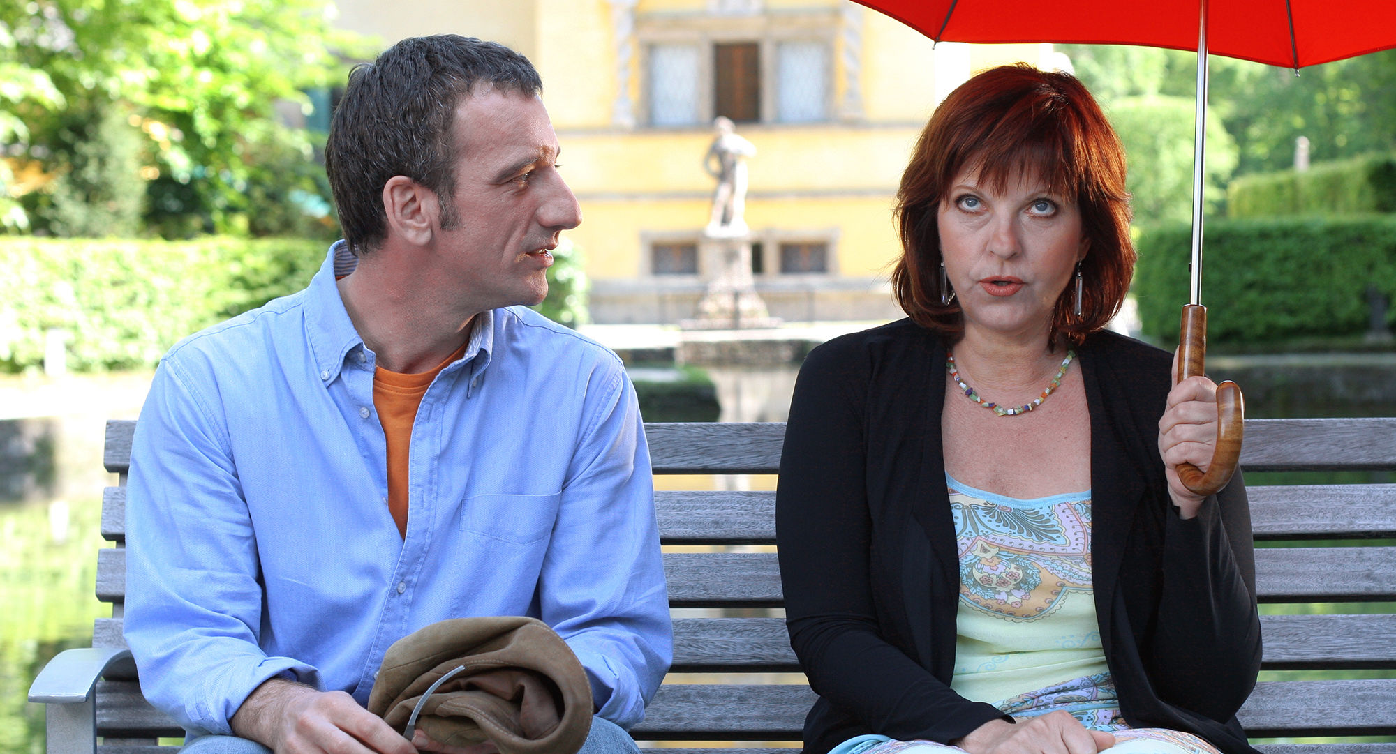 Heio von Stetten (Peter Sommer), Elfi Eschke (Jackie Hecht)