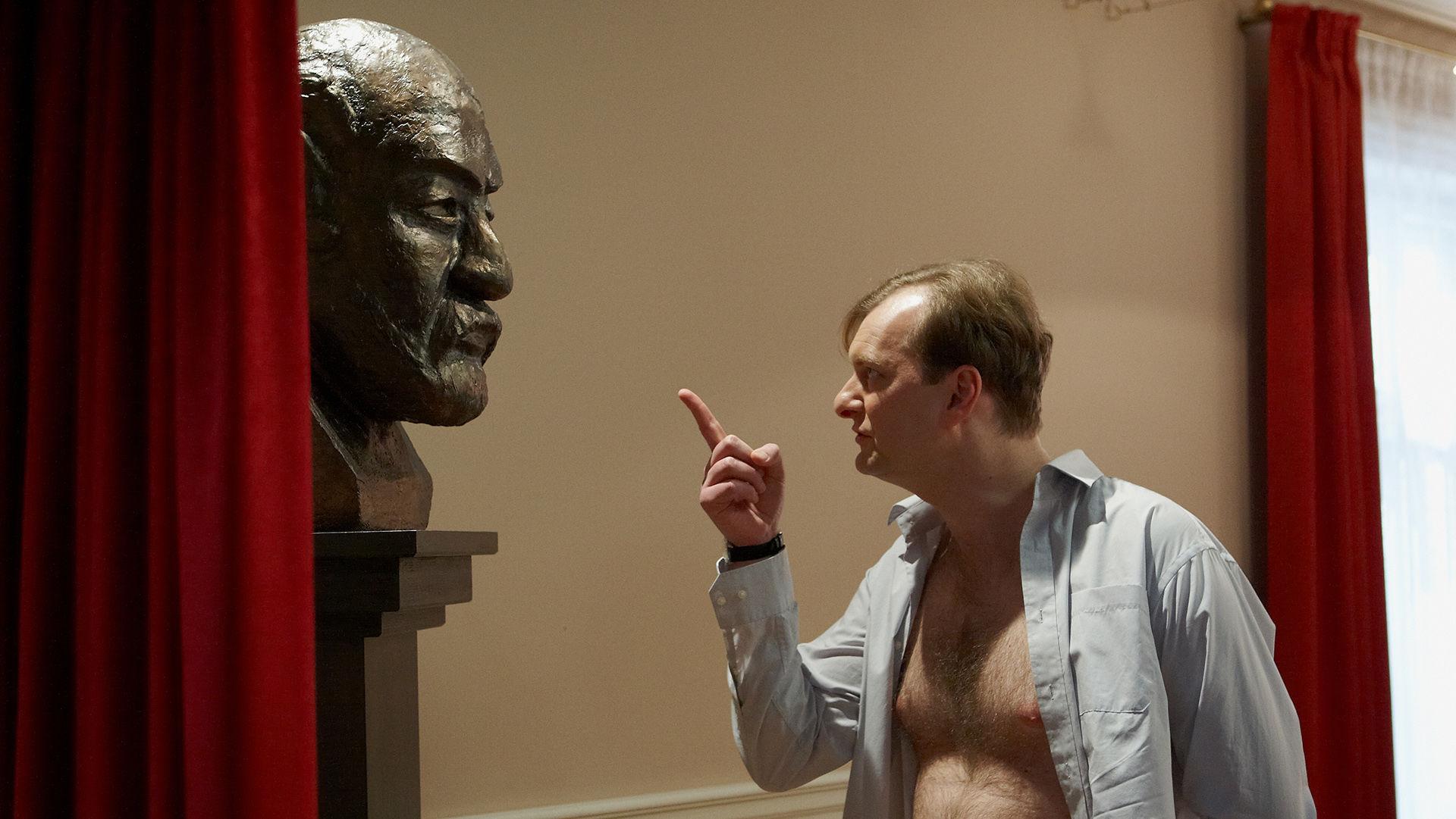 Sigmund Freud (Büste), Alexander Jagsch (Dr. Sigmund Leidowitz)