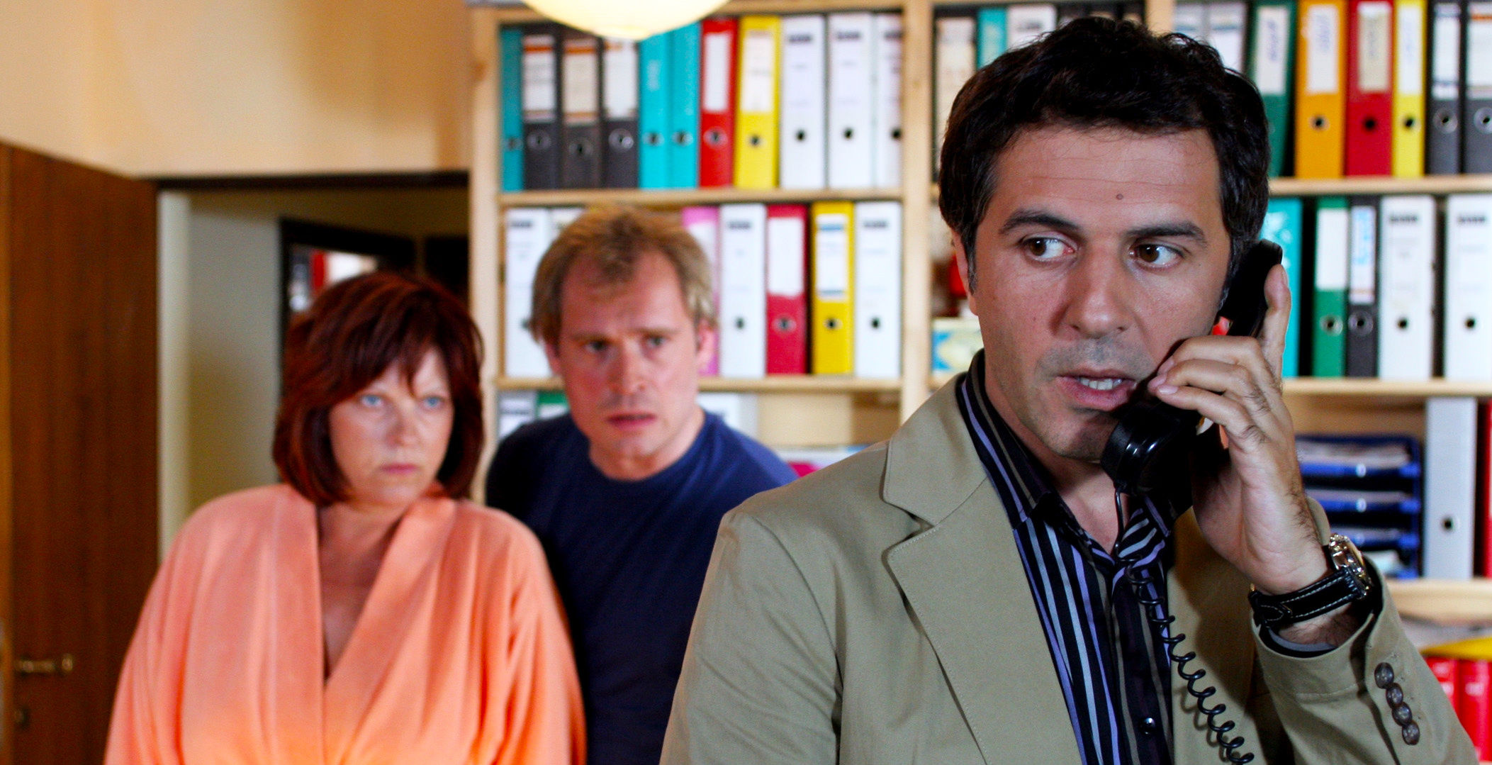 Elfi Eschke (Conny Herzog), Johannes Krisch (Rene Sandler), Merab Ninidze (Thomas Landsberg)