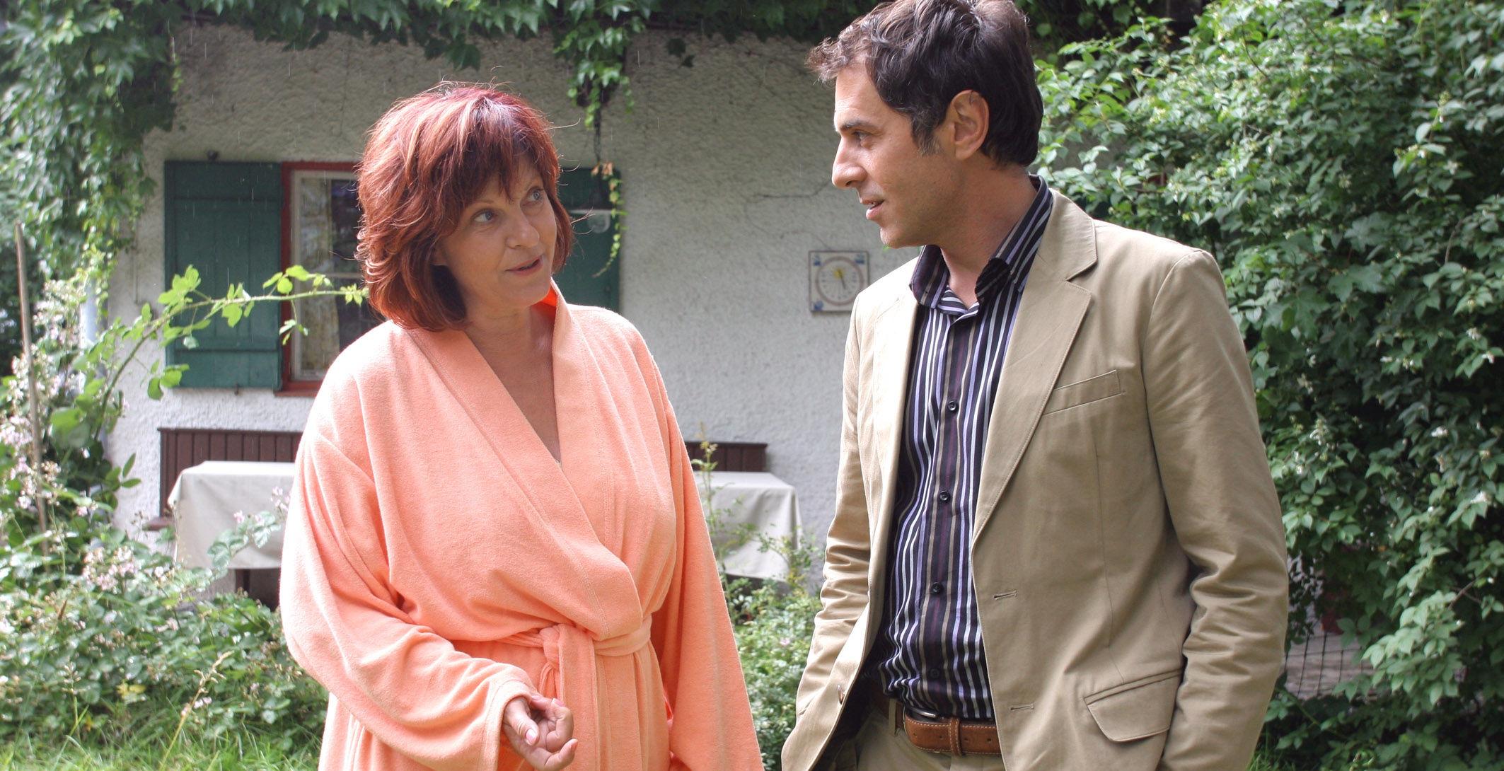 Merab Ninidze (Thomas Landsberg), Elfi Eschke (Conny Herzog)