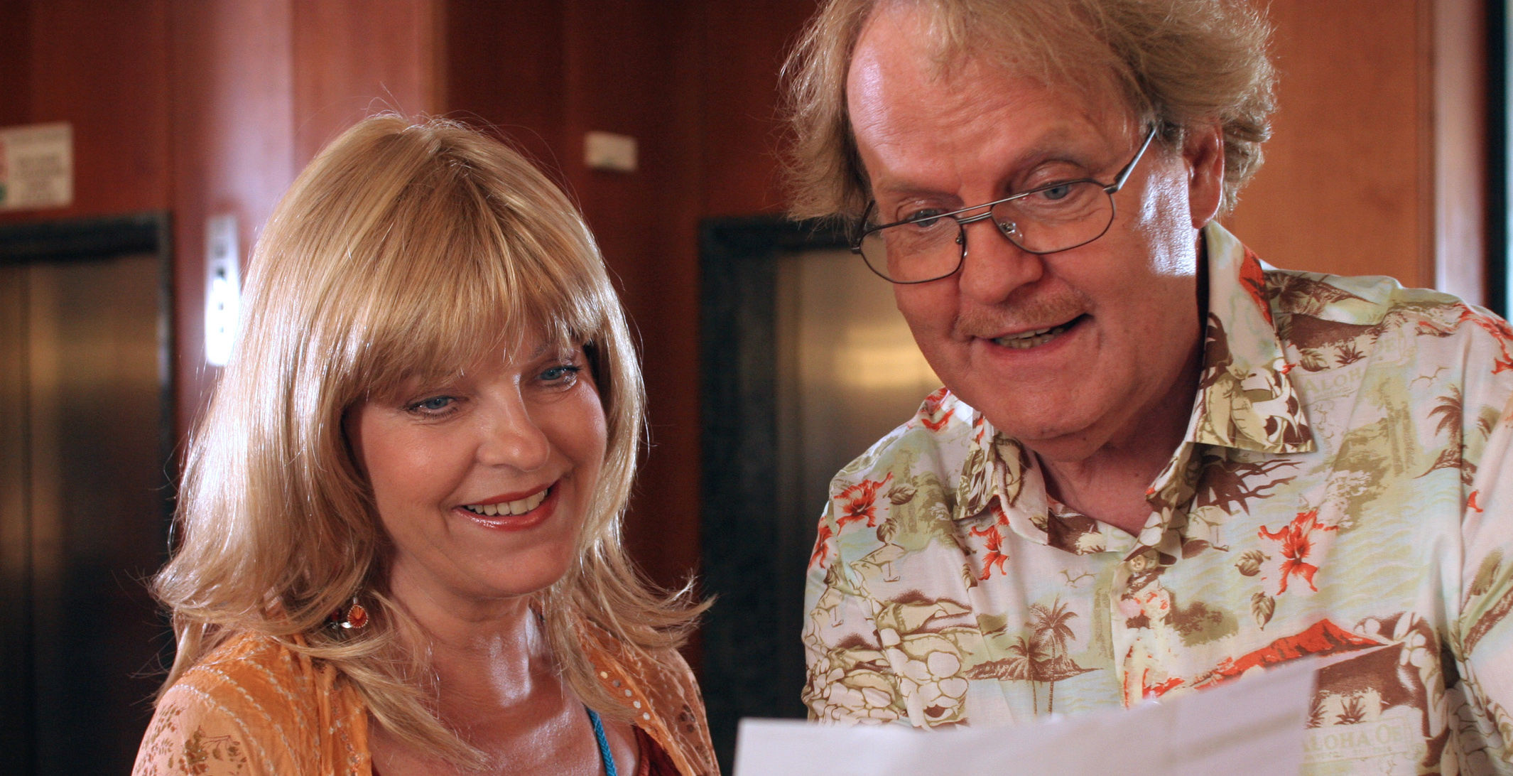 Elfi Eschke (Conny Herzog), Peter Fricke (Albert Summer)