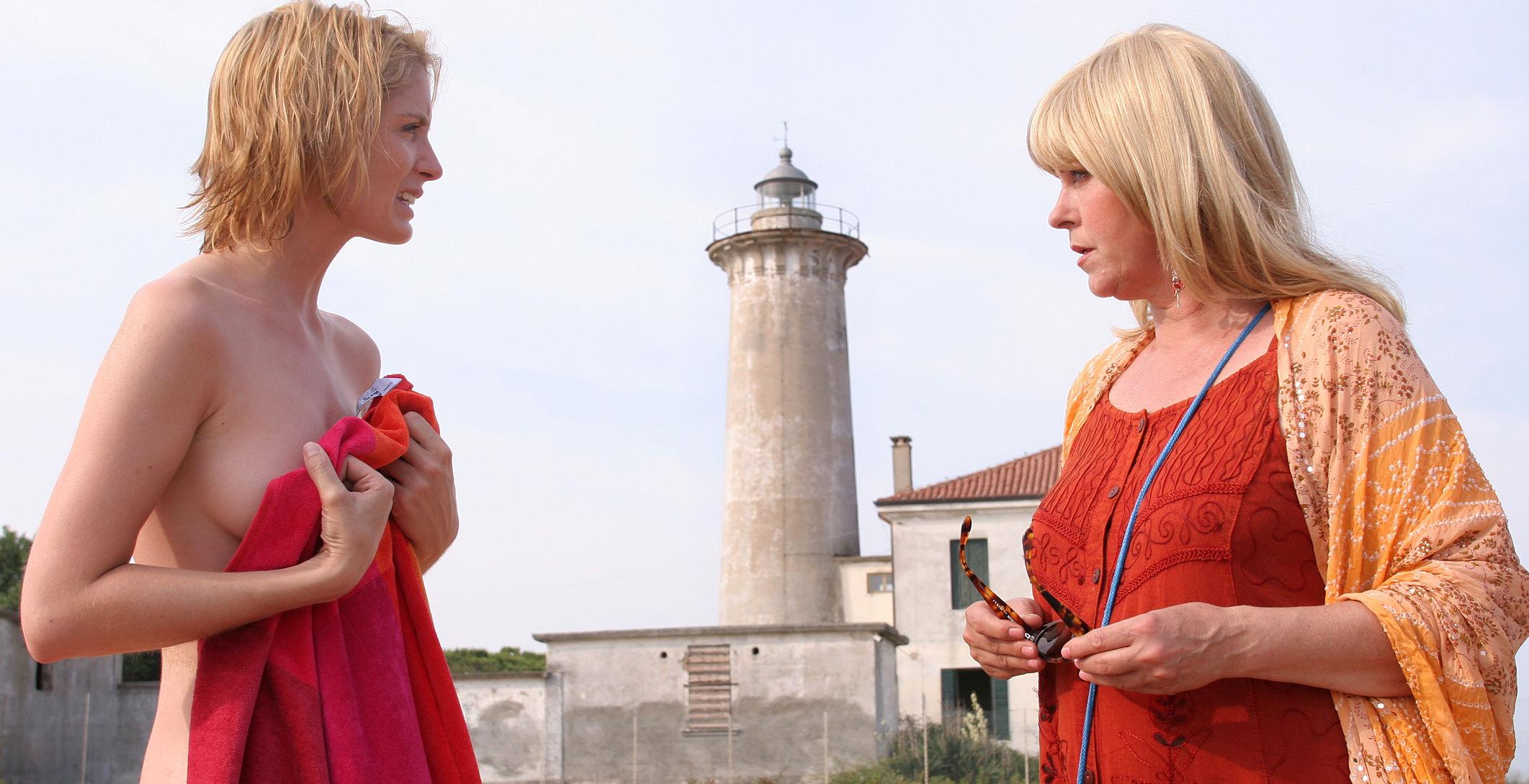 Stefanie Frischeis (die verschwunden Frau?), Elfi Eschke (Conny Herzog)