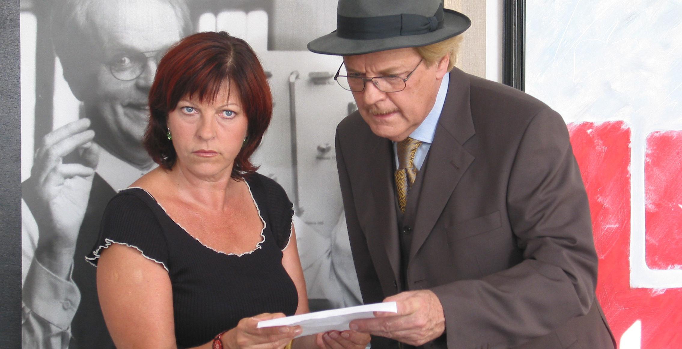 Conny (Elfi Eschke), Albert (Peter Fricke)