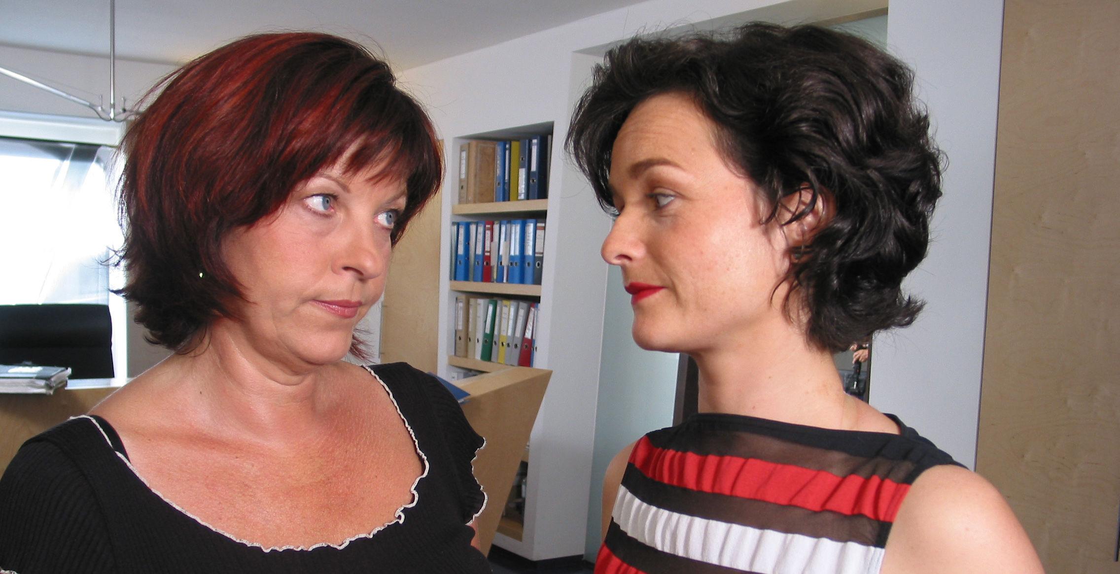 Conny (Elfi Eschke), Diana (Katharina Stemberger)