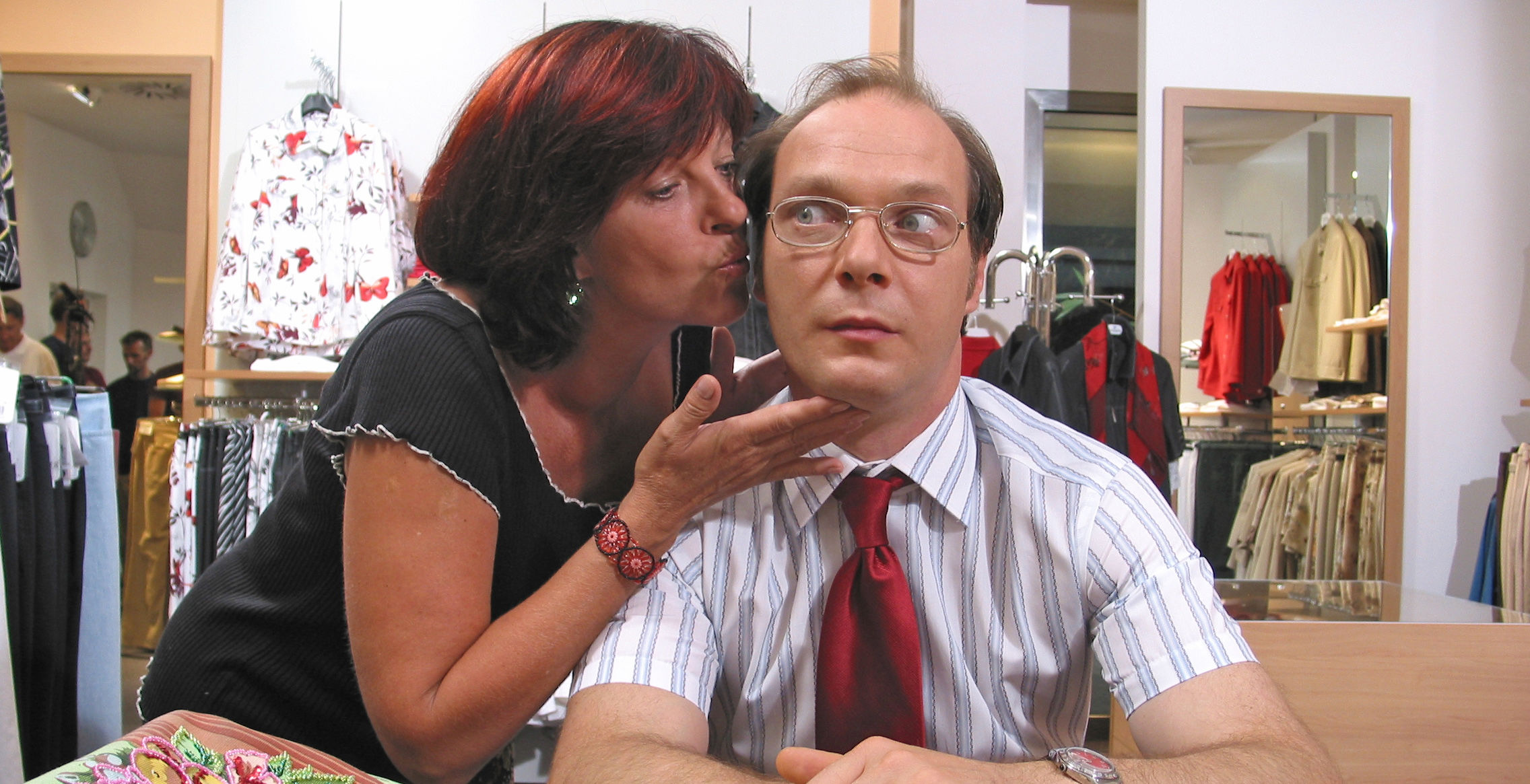 Conny (Elfi Eschke), Schneider (Martin Brambach)