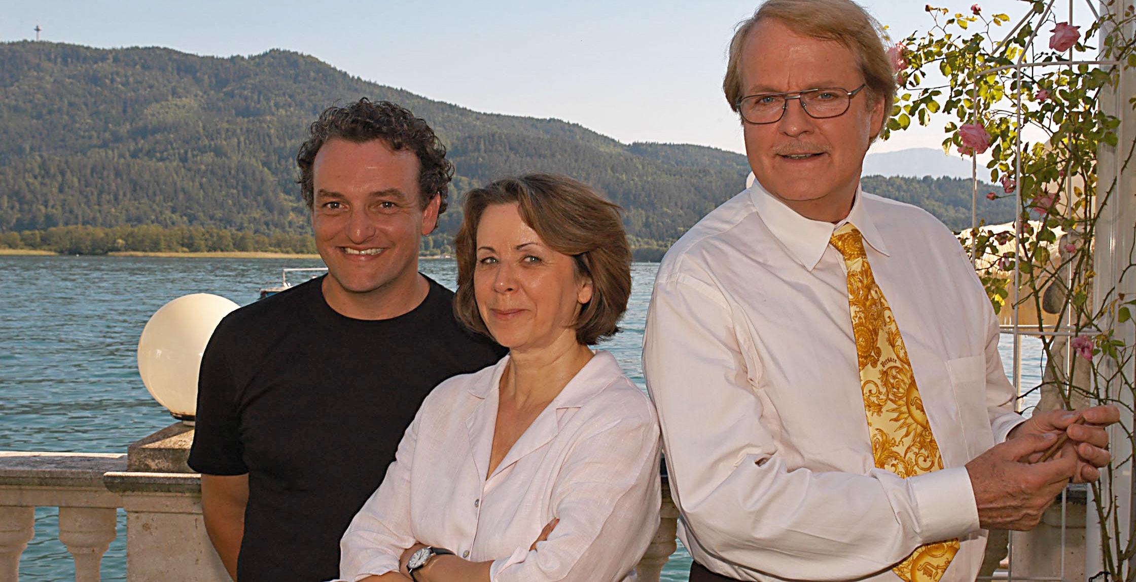 Freddy (Marco Rima), Frau Gold (Uschi Wolff), Albert (Peter Fricke)