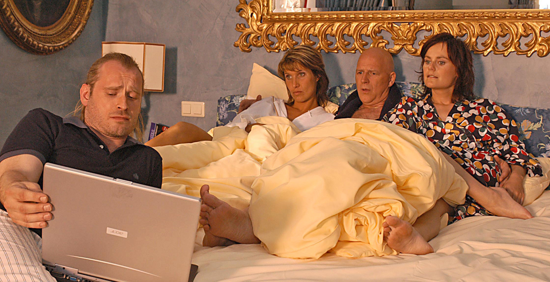 Rene (Johannes Krisch), Suzie (Ina Nadine Wagler), Ralph Schuster (Alexander Goebel), Vanessa (Nina Blum)