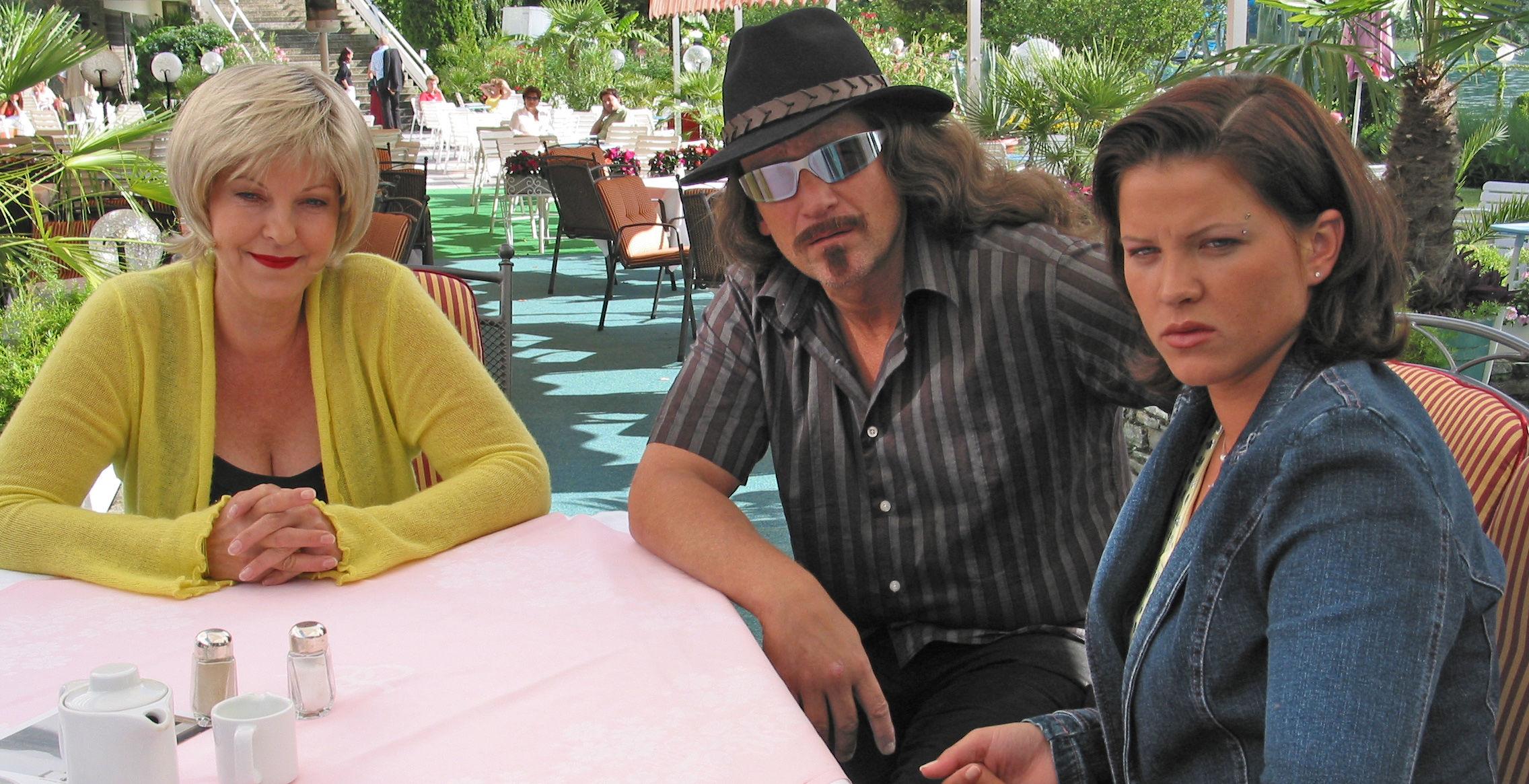 Conny (Elfi Eschke), Larry (Rainhard Fendrich), Shark (Magdalena Rentenberger)