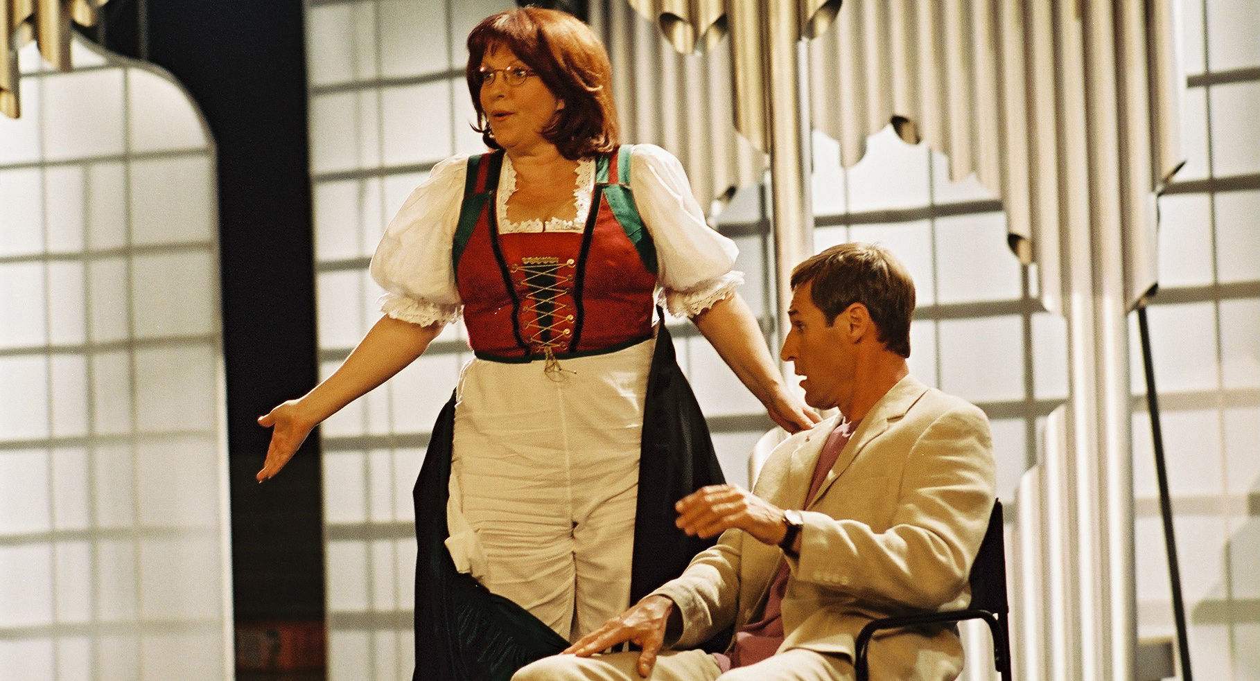 Elfi Eschke (Kathi Blümlein), Ben Cross (David Greenbaum)