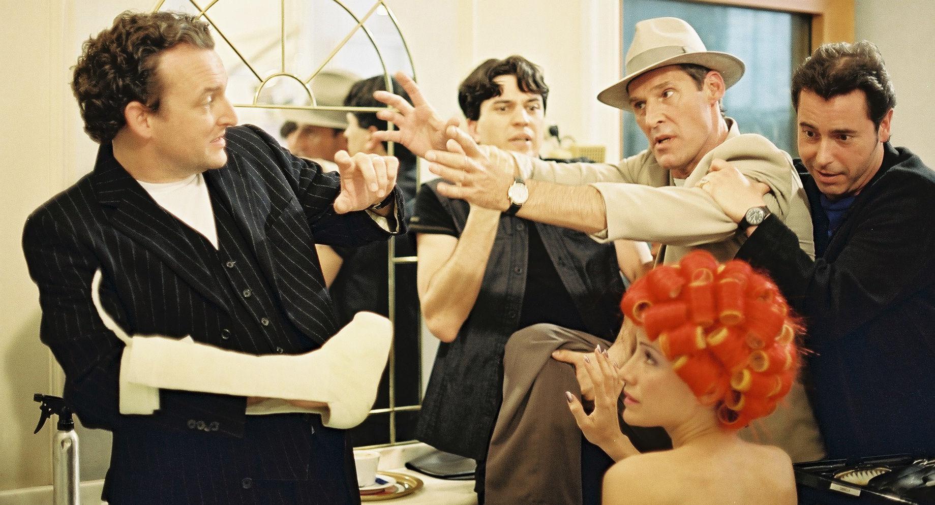 Marco Rima (Eddy), Sandra Pires (Maggie Thompson), Ben Cross (David Greenbaum), Nicholas Newman (Tony)