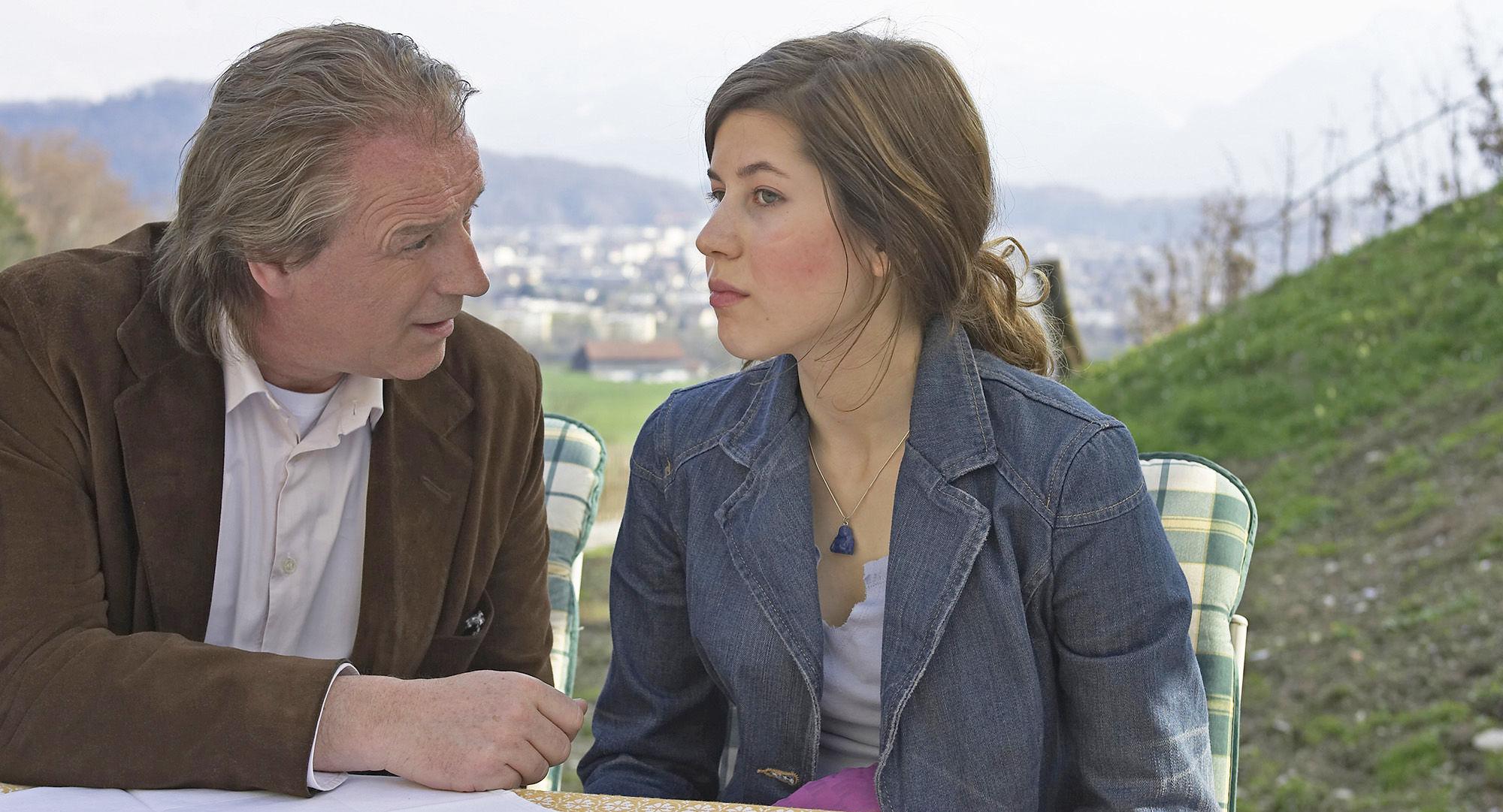 Alexander Goebel (Boris Weininger), Nora Heschl (Judith Schnabel)