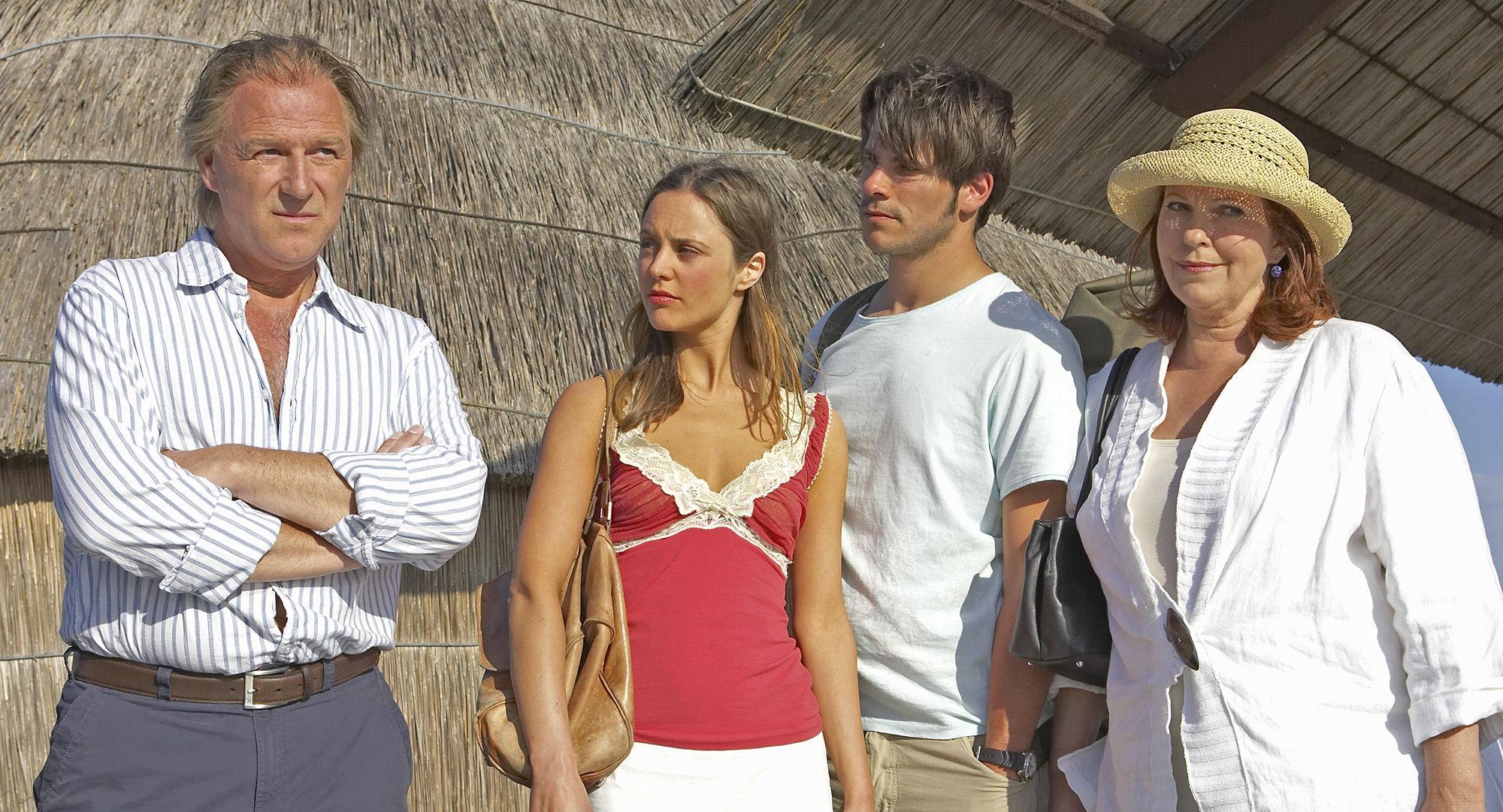 Alexander Goebel (Boris Weininger),  Ina-Alice-Kopp (Margarita), Philip Leenders (James Horrowitz), Elfi Eschke (Sarah Horrowitz)