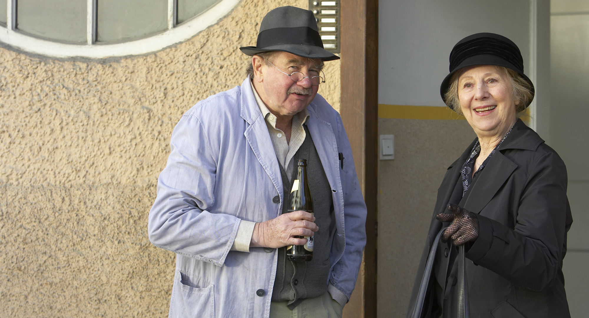 Ernst Konarek(Otto Schratt), Bibiane Zeller (Hilde Horrowitz)