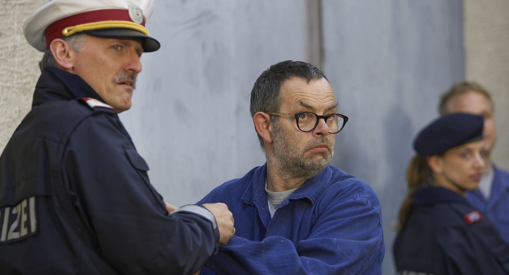 Manfred Dungl (Traugott Pimpf), Karl Ferdinand Kratzl ( Lotter)