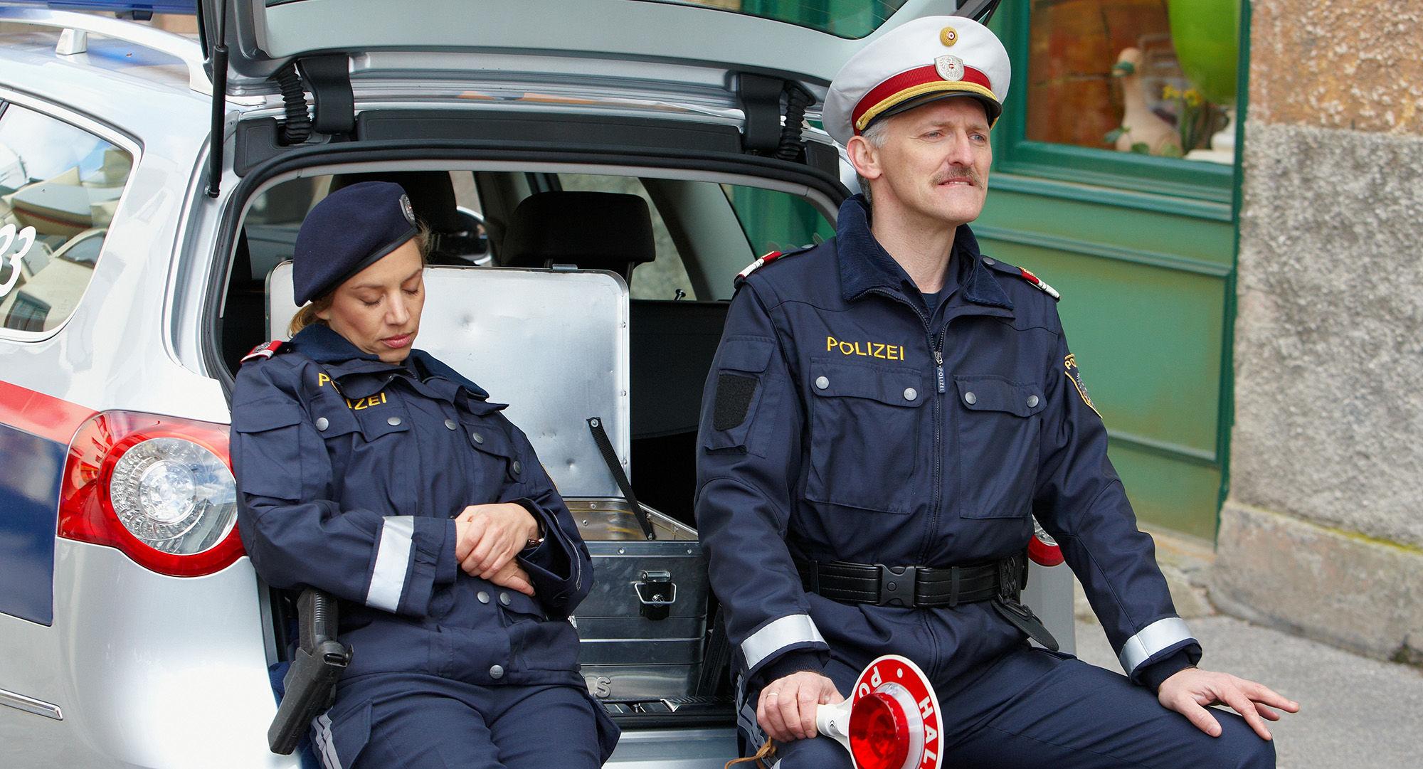 Martina Schwab (Arabella Hürner), Manfred Dungl (Traugott Pimpf)