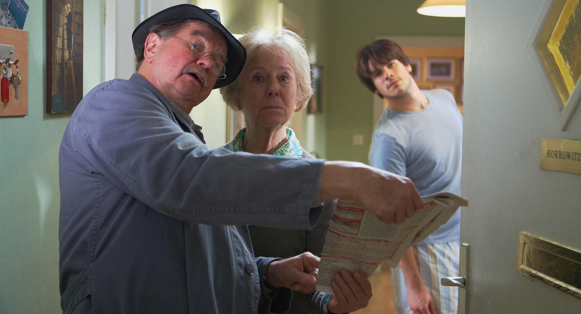 Ernst Konarek(Otto Schratt), Bibiane Zeller (Hilde Horrowitz), Philip Leenders (James Horrowitz)