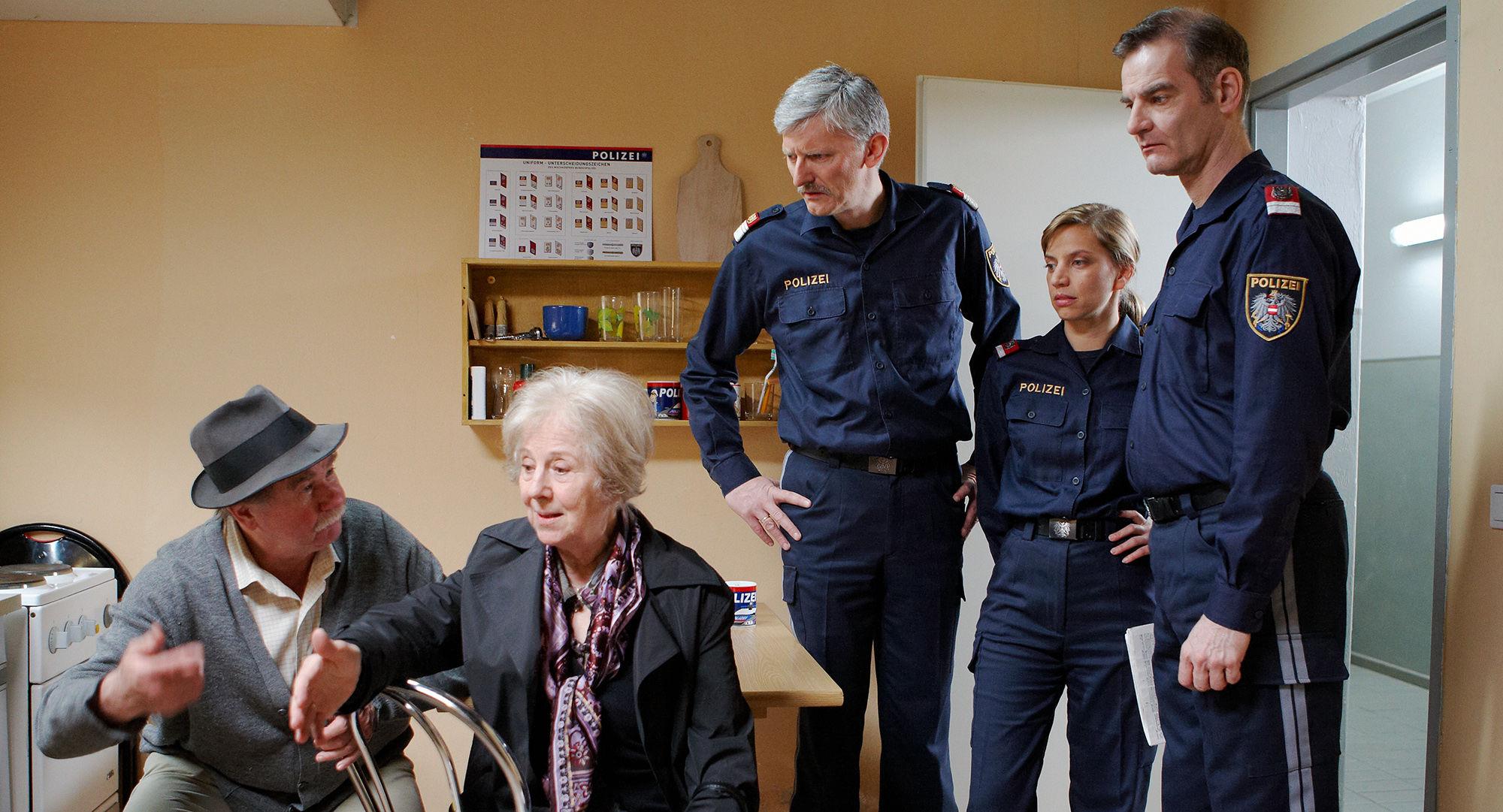 Ernst Konarek(Otto Schratt), Bibiana Zeller (Hilde Horrowitz),  Manfred Dungl (Traugott Pimpf), Martina Schwab (Arabella Hürner), Heinrich Schafmeister (Udo Maulhart)