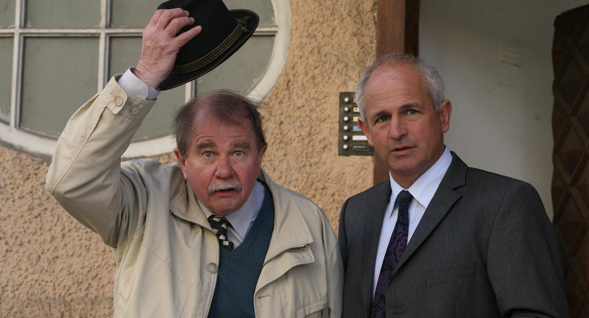 Ernst Konarek(Otto Schratt),  Fritz Egger (Erwin Strunz)