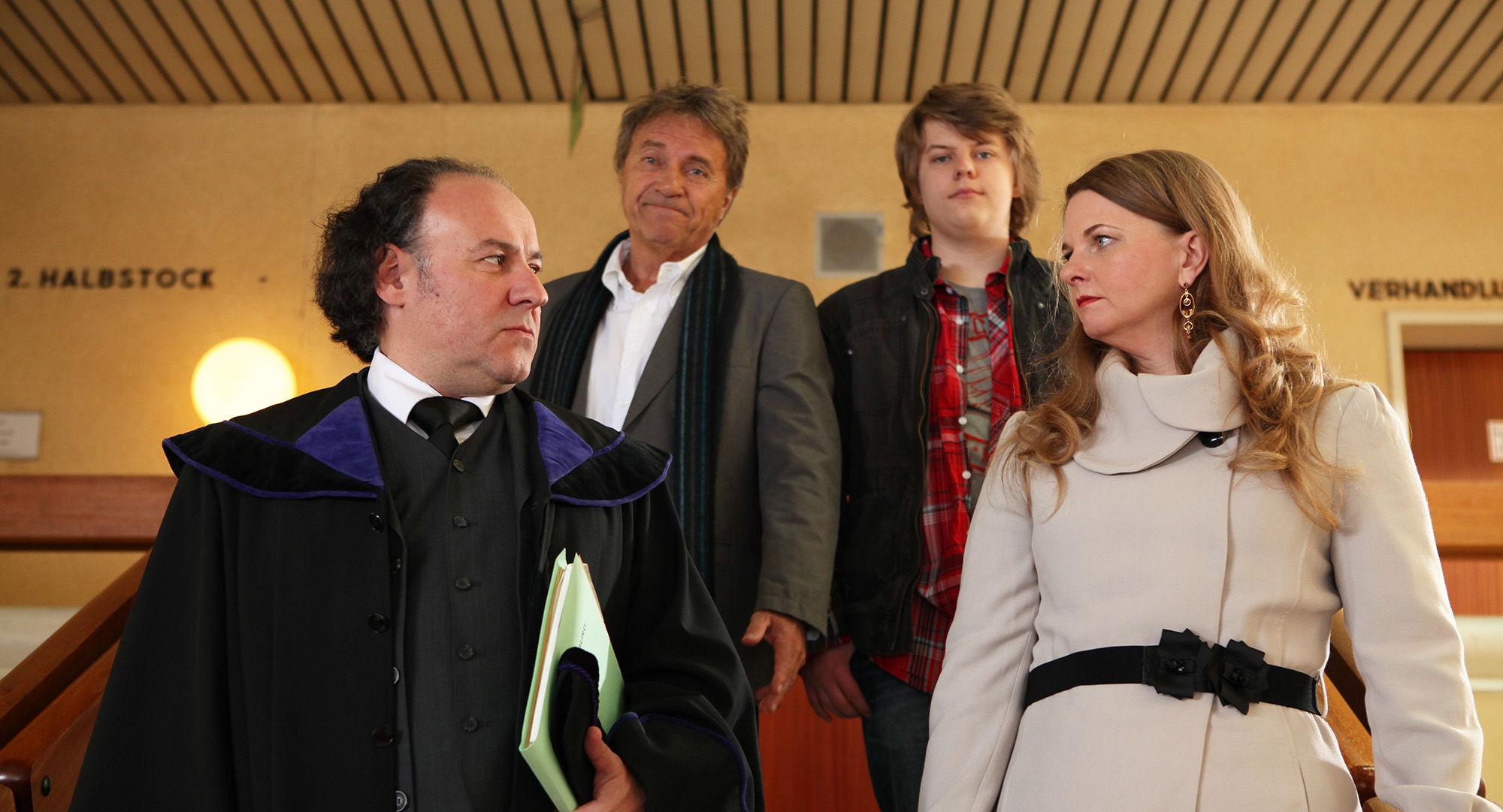 Christian Weinberger (Dr. Kainroth), Wolfram Berger (Thomas Kilian), Lucas Schwabenitzky (David Killean), Ulrike Beimpold ( Renate Kilian)