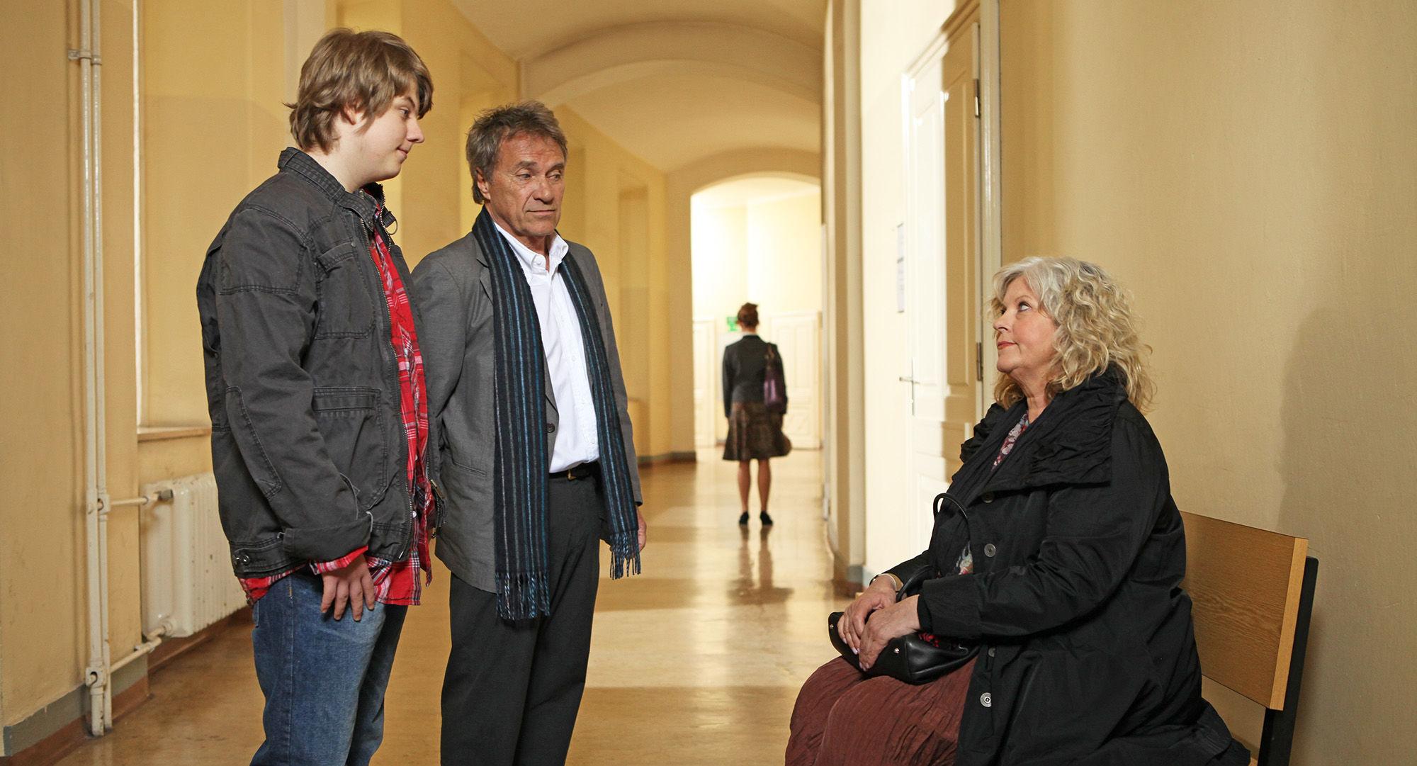 Lucas Schwabenitzky (David Killean), Wolfram Berger (Thomas Kilian), Elfi Eschke (Sarah Horrowitz)