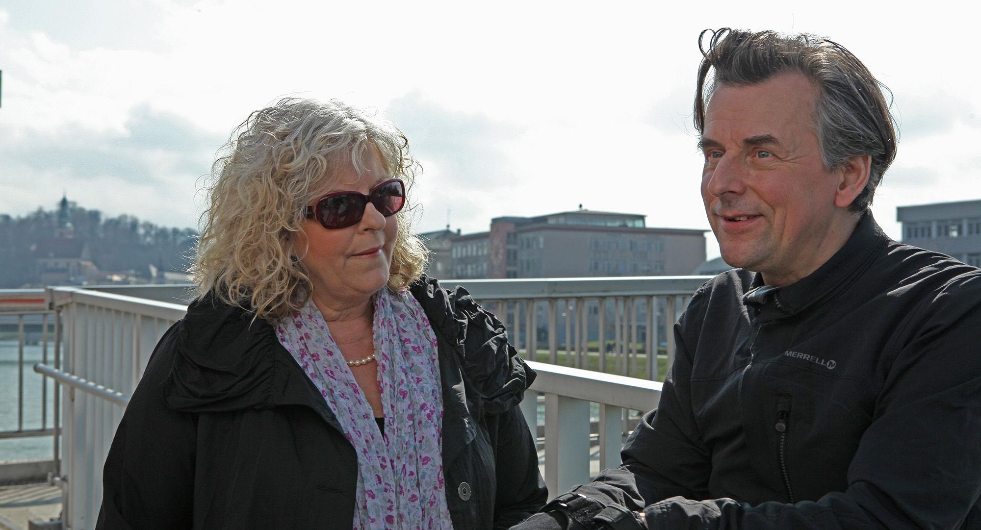 Elfi Eschke (Sarah Horrowitz),Johannes Silberschneider (Reginald Brüller)