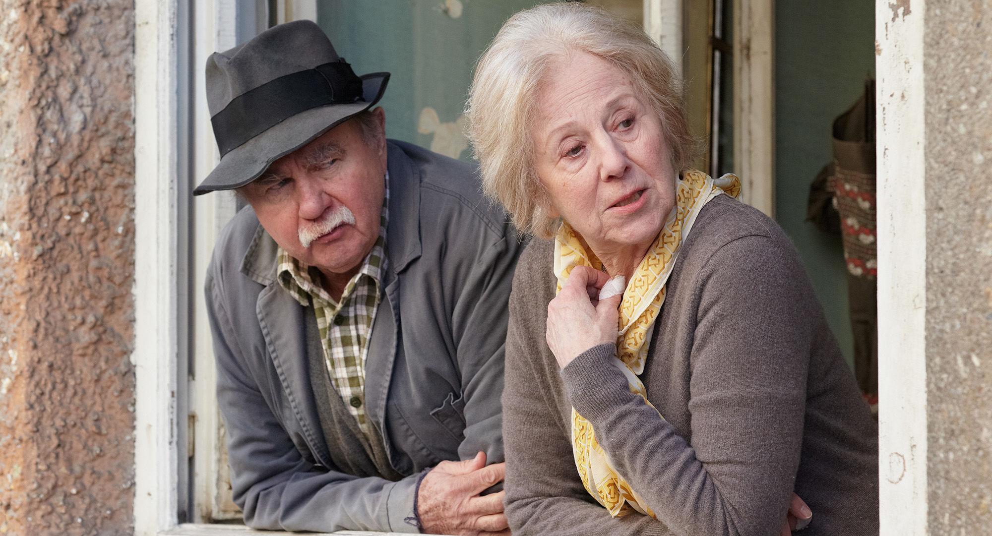 Ernst Konarek(Otto Schratt), Bibiana Zeller (Hilde Horrowitz)