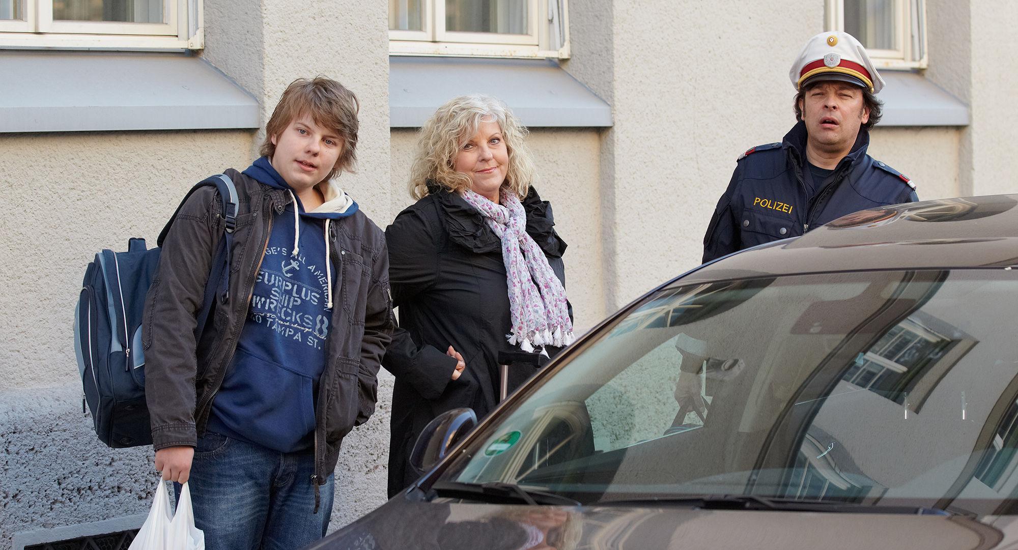 Lucas Schwabenitzky (David Killean), Elfi Eschke (Sarah Horrowitz), Fritz Hammel ( Kurti Hufnagl)
