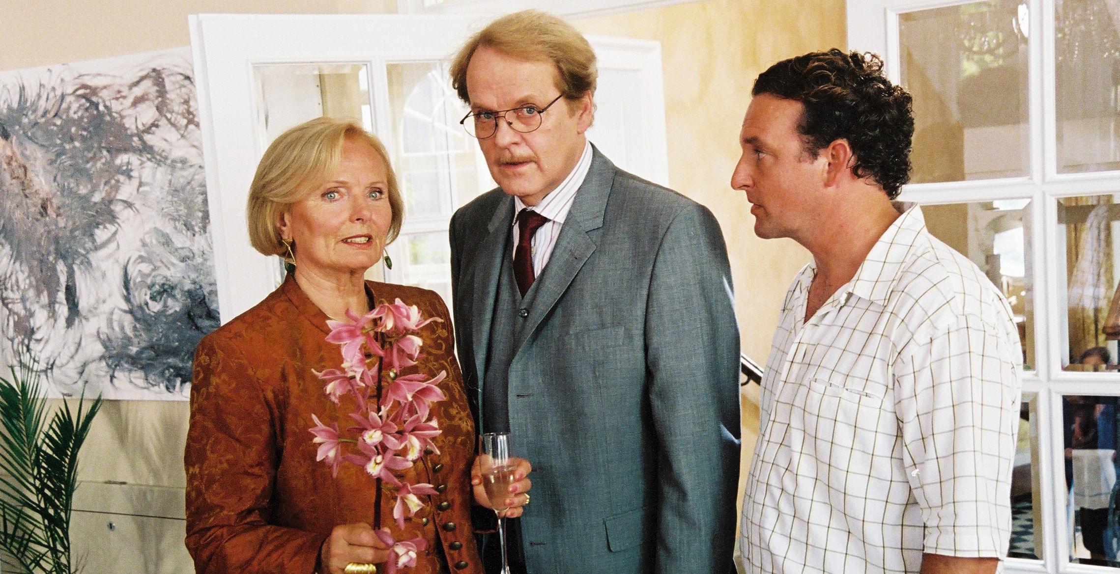 Jacqueline (Ruth-Maria Kubitschek), Albert (Peter Fricke), Freddy (Marco Rima)