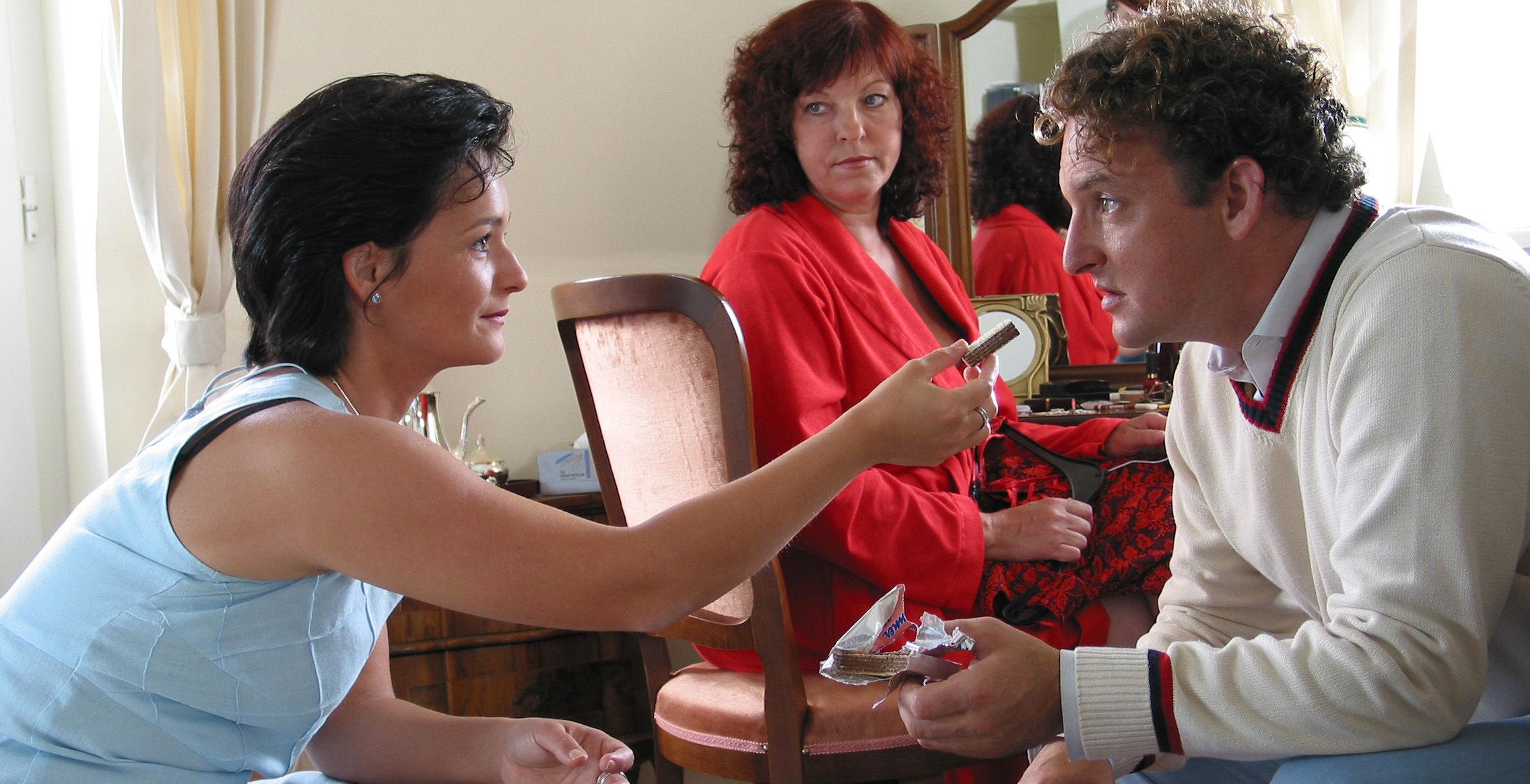 Diana (Katharina Stemberger), Conny (Elfi Eschke), Freddy (Marco Rima)
