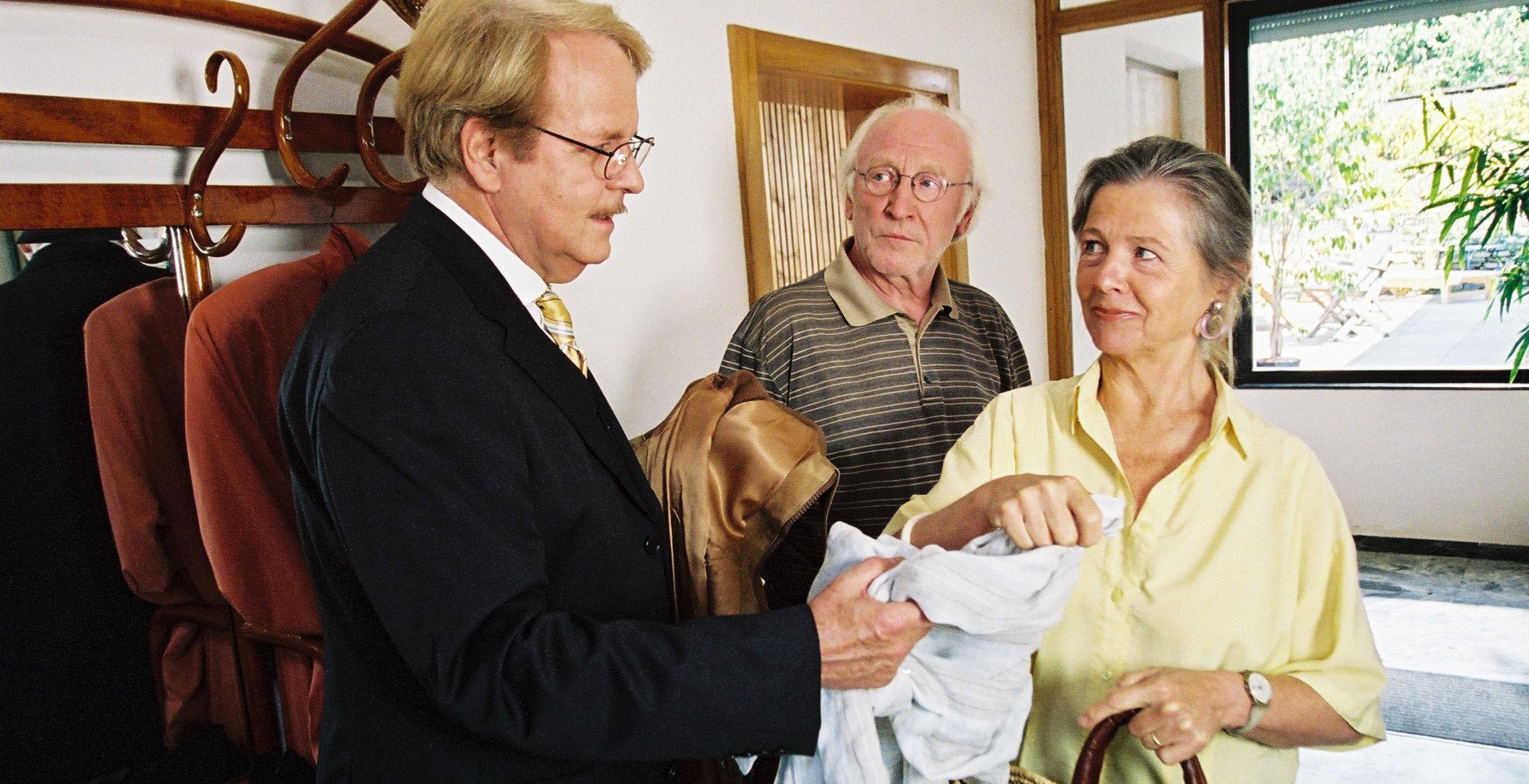 Albert (Peter Fricke), Paul (Karl Merkatz), Sandra (Helma Gautier)