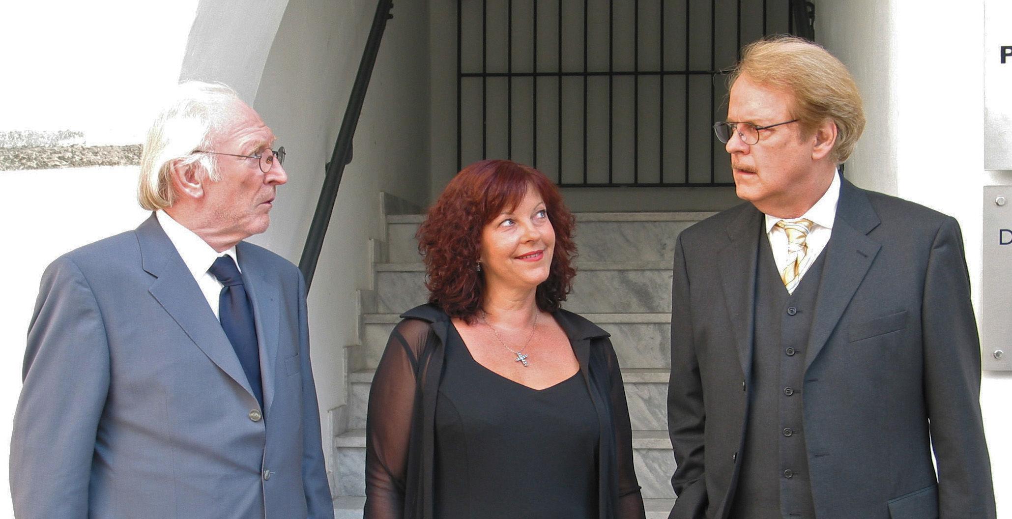 Paul (Karl Merkatz), Conny (Elfi Eschke), Albert (Peter Fricke)