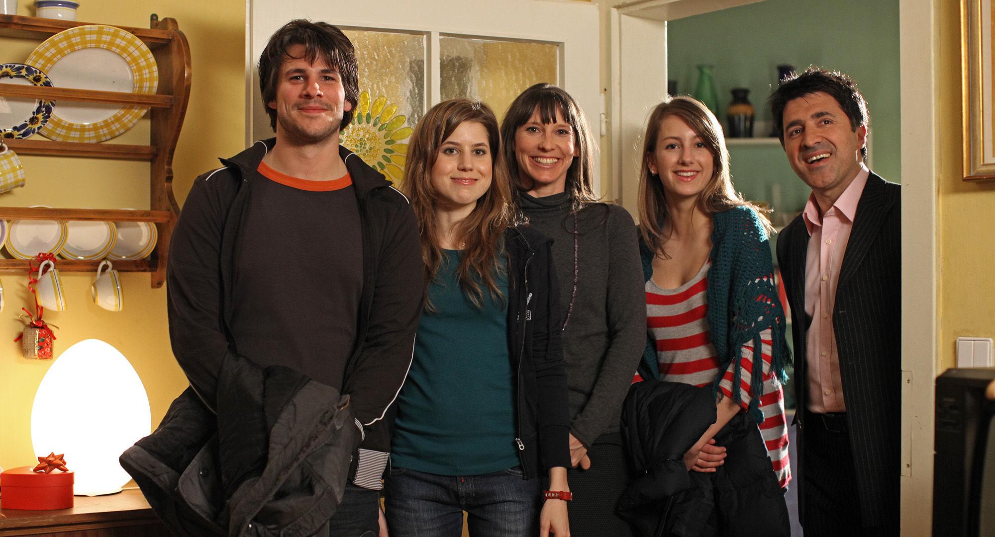 Philip Leenders (James Horrowitz), Nora Heschl (Judith Schnabel), Maria Köstlinger (Anna Schnabel), Julia Krombach (Nadine Horrowitz), Haydar Zorlu (Seyfi Ülbül)