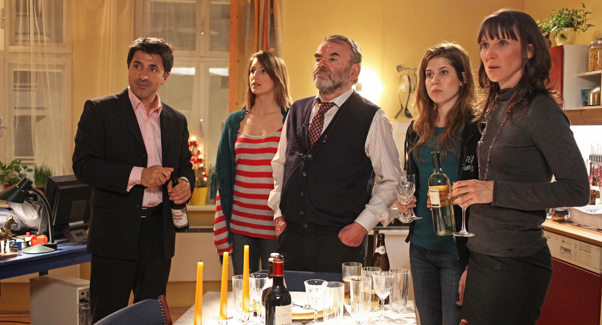Haydar Zorlu (Seyfi Ülbül), Julia Krombach (Nadine Horrowitz), Branko Samarovski (Onkel Frido), Nora Heschl (Judith Schnabel), Maria Köstlinger (Anna Schnabel)